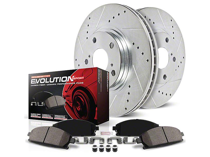 Power Stop Z23 Evolution Sport Brake Rotor & Pad Kit - Front & Rear (07-14 GT500)