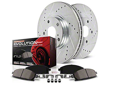 Power Stop Z23 Evolution Sport Brake Rotor & Pad Kit - Front & Rear (15-18 GT w/ Performance Pack)