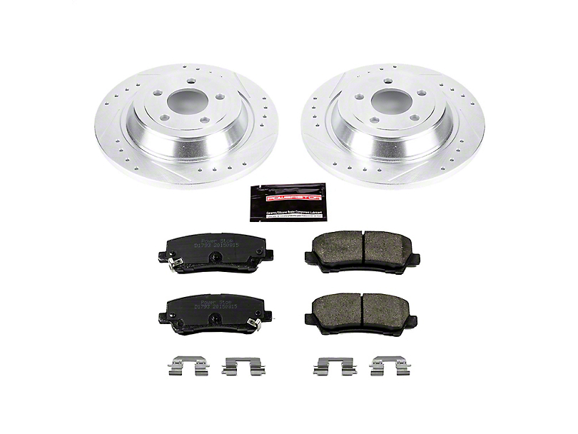 Power Stop Z23 Evolution Sport Brake Rotor & Pad Kit - Rear (15-19 GT, EcoBoost, V6)