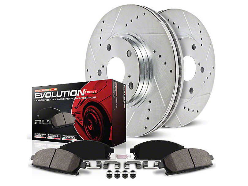 Power Stop Z23 Evolution Sport Brake Rotor & Pad Kit - Rear (94-04 GT, V6)