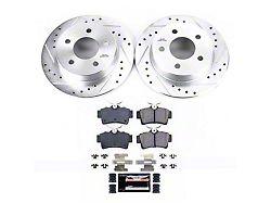 Power Stop Z23 Evolution Sport Brake Rotor and Pad Kit; Rear (94-04 GT, V6)