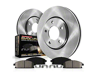 Power Stop OE Replacement Brake Rotor & Pad Kit - Front (15-18 Standard GT, EcoBoost w/ Performance Pack)