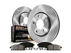 Power Stop OE Replacement Brake Rotor & Pad Kit - Front (15-19 Standard GT, EcoBoost w/ Performance Pack)