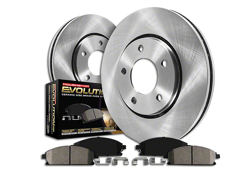 Power Stop OE Replacement Brake Rotor & Pad Kit - Front (94-98 GT, V6)