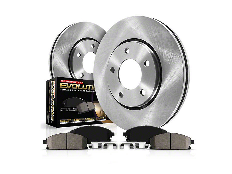 Power Stop OE Replacement Brake Rotor & Pad Kit - Front (99-04 GT, V6)