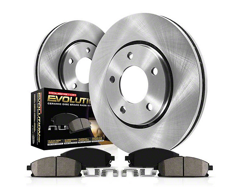 Power Stop OE Replacement Brake Rotor & Pad Kit - Front & Rear (11-14 GT Brembo; 12-13 BOSS 302)