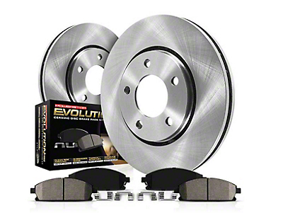 Power Stop OE Replacement Brake Rotor & Pad Kit - Front & Rear (11-14 GT Brembo; 12-13 BOSS)