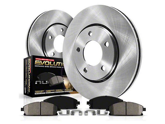 Power Stop OE Replacement Brake Rotor & Pad Kit - Rear (05-14 All)