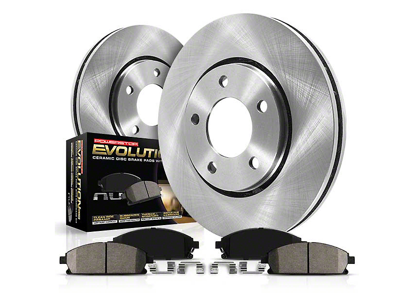 Power Stop OE Replacement Brake Rotor & Pad Kit - Rear (94-04 GT, V6)