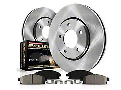 Power Stop OE Replacement Brake Rotor and Pad Kit; Rear (94-04 GT, V6)