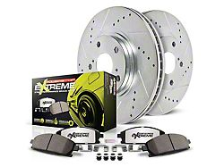 Power Stop Z26 Street Warrior Brake Rotor & Pad Kit - Front (15-19 GT w/ Performance Pack)