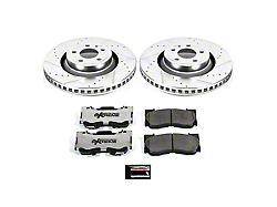 Power Stop Z26 Street Warrior Brake Rotor & Pad Kit - Front (15-19 Standard GT, EcoBoost w/ Performance Pack)
