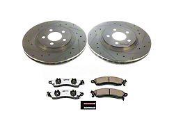 Power Stop Z26 Street Warrior Brake Rotor & Pad Kit - Front (94-04 Cobra, Bullitt, Mach 1)