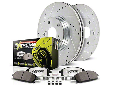 Power Stop Z26 Street Warrior Brake & Rotor Pad Kit - Front (94-98 GT, V6)