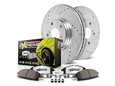 Power Stop Z26 Street Warrior Brake & Rotor Pad Kit - Front (99-04 GT, V6)