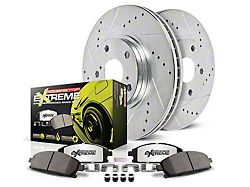 Power Stop Z26 Street Warrior Brake Rotor & Pad Kit - Rear (15-19 GT, EcoBoost w/ Performance Pack)