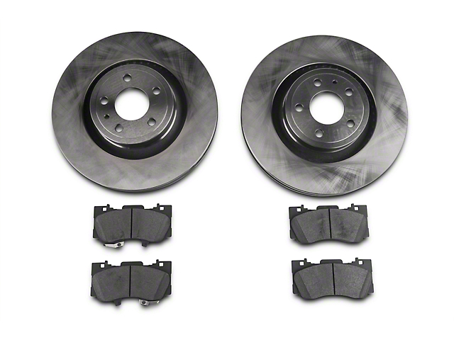 Power Stop Track Day Brake Rotor & Pad Kit - Front (15-17 Standard GT, EcoBoost w/ Performance Pack)
