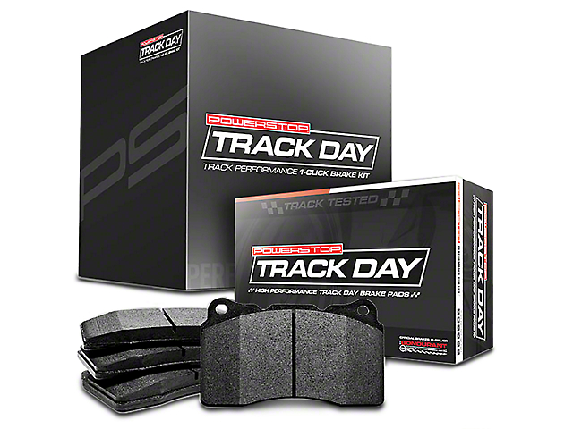 Power Stop Track Day Plus Brake Rotor & Pad Kit - Front & Rear (15-17 Standard GT, EcoBoost w/ Performance Pack)