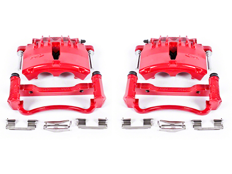 Power Stop Performance Front Brake Calipers - Red (99-04 GT, V6)