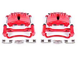 Power Stop Performance Front Brake Calipers; Red (99-02 GT, V6)