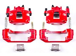 Power Stop Performance Front Brake Calipers - Red (94-98 GT, V6)