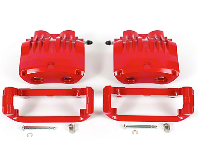 Power Stop Performance Front Brake Calipers - Red (99-01 Cobra; 2001 Bullitt)