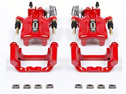 Power Stop Performance Rear Brake Calipers; Red (94-04 Cobra, Bullitt, Mach 1)