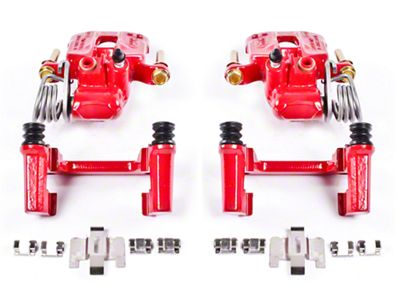 Power Stop Performance Rear Brake Calipers - Red (94-04 GT, V6)