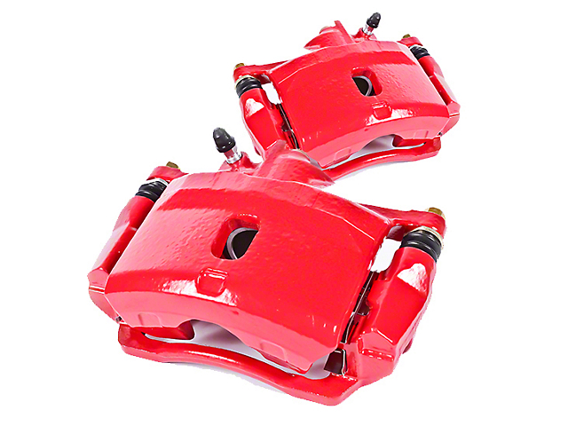 Power Stop Performance Front Brake Calipers; Red (05-14 Standard GT, V6)