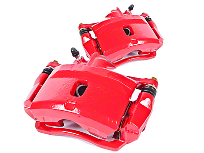 Power Stop Performance Front Brake Calipers - Red (99-04 Cobra, Bullitt, Mach 1)