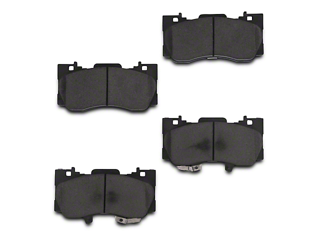 Power Stop Track Day Carbon-Fiber Metallic Brake Pads - Front Pair (15-18 Standard GT, EcoBoost w/ Performance Pack)
