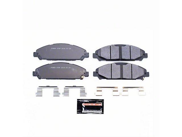 Power Stop Track Day Carbon-Fiber Metallic Brake Pads - Front Pair (15-18 V6, Standard EcoBoost)