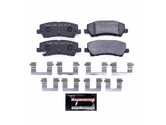 Power Stop Track Day Carbon-Fiber Metallic Brake Pads - Rear Pair (15-18 GT, EcoBoost, V6)