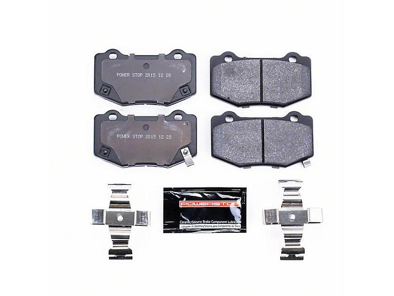 Power Stop Track Day Carbon-Fiber Metallic Brake Pads - Rear Pair (15-18 GT350)