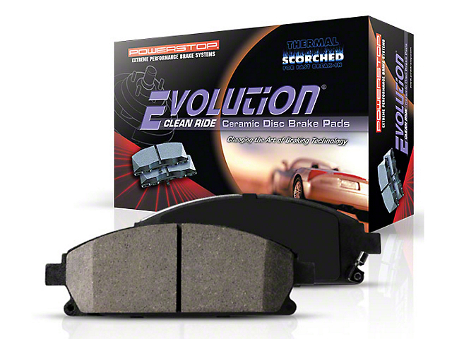 Power Stop Z16 Evolution Clean Ride Ceramic Brake Pads; Front Pair (05-14 Standard GT, V6)