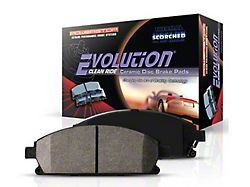 Power Stop Z16 Evolution Clean Ride Ceramic Brake Pads - Front Pair (11-14 GT Brembo; 12-13 BOSS 302; 07-12 GT500)