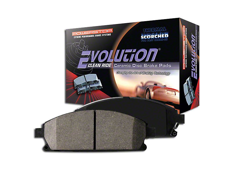 Power Stop Z16 Evolution Clean Ride Ceramic Brake Pads - Front Pair (15-19 GT w/ Performance Pack)