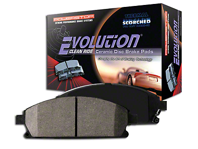 Power Stop Z16 Evolution Clean Ride Ceramic Brake Pads - Front Pair (15-17 GT w/ Performance Pack)