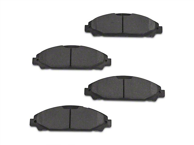 Power Stop Z16 Evolution Clean Ride Ceramic Brake Pads - Front Pair (15-19 Standard EcoBoost, V6)