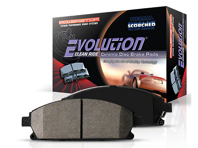 Power Stop Z16 Evolution Clean Ride Ceramic Brake Pads - Front Pair (87-93 5.0L)