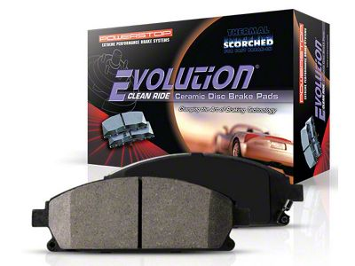 Power Stop Z16 Evolution Clean Ride Ceramic Brake Pads - Front Pair (94-04 Cobra, Bullitt, Mach 1)
