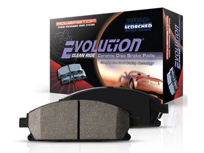 Power Stop Z16 Evolution Clean Ride Ceramic Brake Pads - Rear Pair (3/21/10-14 GT