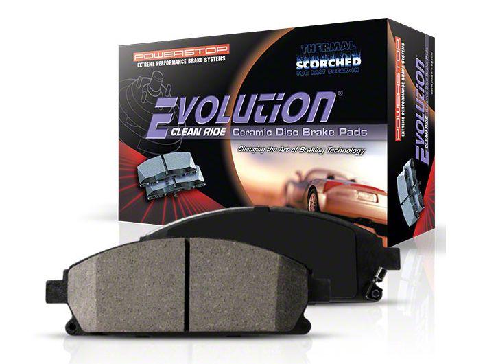 Power Stop Z16 Evolution Clean Ride Ceramic Brake Pads - Rear Pair (3/21/10-14 GT, V6; 13-14 GT500)