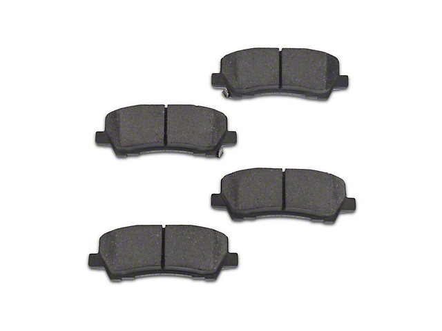 Power Stop Z16 Evolution Clean Ride Ceramic Brake Pads - Rear Pair (15-18 GT, EcoBoost, V6)