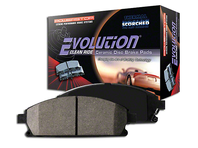 Power Stop Z16 Evolution Clean Ride Ceramic Brake Pads - Rear Pair (15-18 GT350)