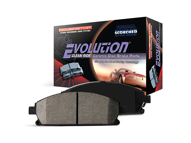 Power Stop Z16 Evolution Clean Ride Ceramic Brake Pads - Rear Pair (94-04 Cobra, Bullitt, Mach 1)