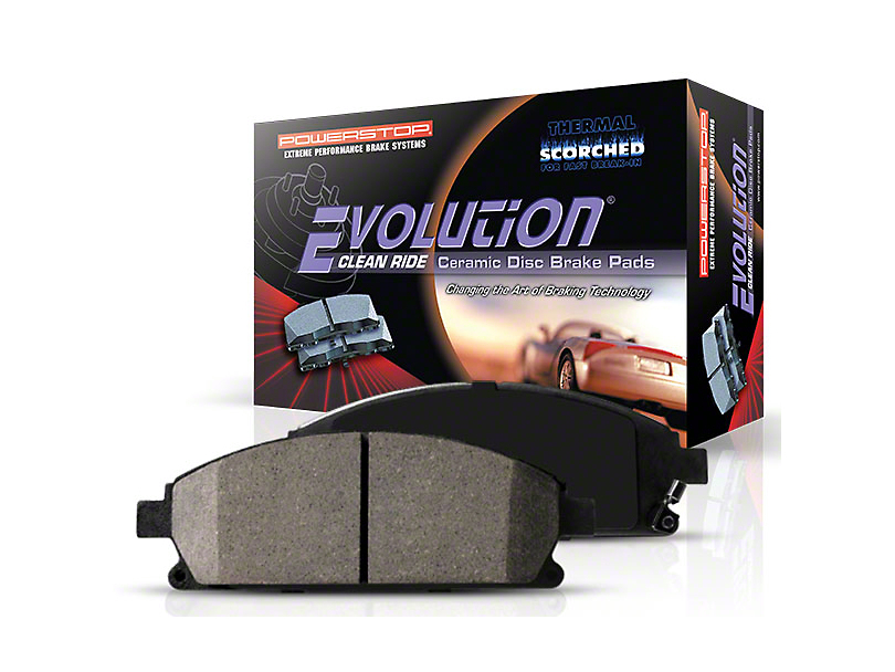 Power Stop Z16 Evolution Clean Ride Ceramic Brake Pads - Rear Pair (94-04 GT, V6)