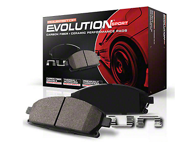 Power Stop Z23 Evolution Sport Ceramic Brake Pads - Front Pair (13-14 GT500)