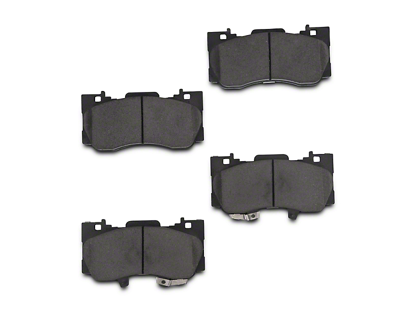 Power Stop Z23 Evolution Sport Ceramic Brake Pads - Front Pair (15-17 Standard GT, EcoBoost w/ Performance Pack)