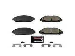 Power Stop Z23 Evolution Sport Ceramic Brake Pads - Front Pair (15-19 Standard EcoBoost, V6)